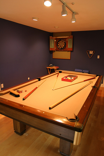 The Complete Home Billiard Room Package