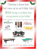 Holiday 2016 Flyer, Ac-Cue-Rate Billiards Pelham, NH