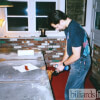 Brad Quenneville Repairing a Pool Table