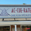 Ac-Cue-Rate Billiards Store Sign Pelham, NH