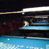 Shooting Pool at Ballad Town Billiards of Forest Grove, OR