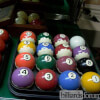 Antique Billiard Balls at Blatt Billiards Showroom New York, NY