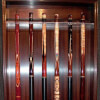Pool Cues on Display Blatt Billiards Showroom