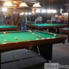 Shooting Pool at Dooly's Prospect St in Fredericton, NB