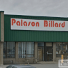 Store front at Palason Billiards Manufacturing Lachine, QC