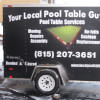 Your Local Pool Table Guy Trailer