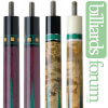 BMC 2011 Limited Edition Series Pool Cue Forearms