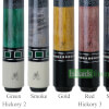 BMC Hickory Series Pool Cue Identification