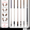 Web Ad for Medici Series Pool Cues by Meucci