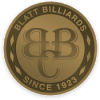 Emblem Logo, Blatt Billiards New York Showroom New York, NY