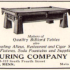1929 Schaaf Manufacturing Company Ad