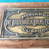 Antique Brunswick Balke-Collender Snooker Table