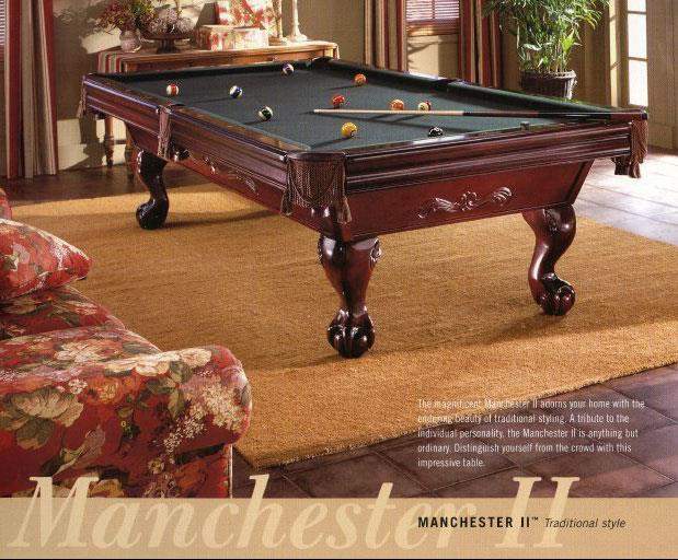 Value Of An 8 Brunswick Manchester Ii Pool Table