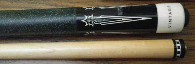 Pool Cue With Quot Vintage Quot And Roman Numeral Ix On Butt