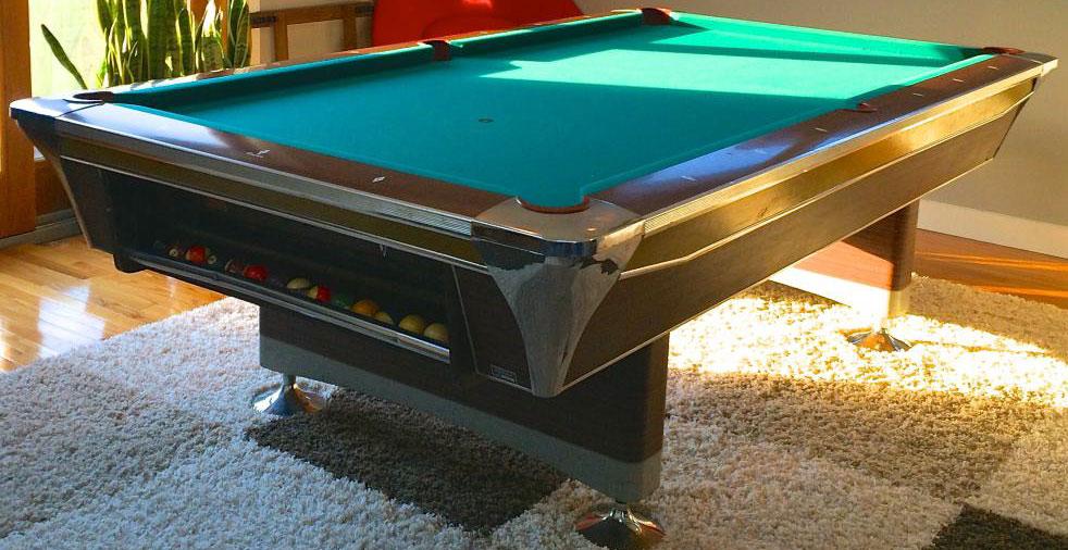 Fischer Model D Pool Table Value - Fischer pool table