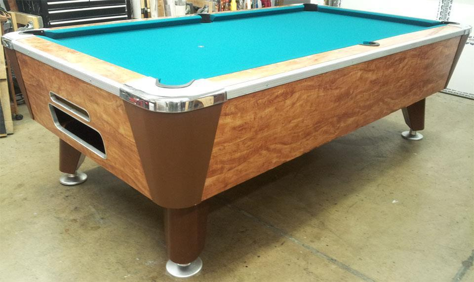 Identify Coin Operated Pool Table Manufacturer Valley - Pool table identification
