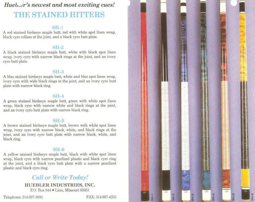huebler-stained-hitters-cues.jpg
