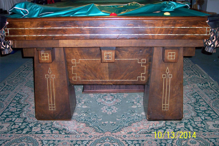Antique wendt billiard table for Show pool post expert ng best forum