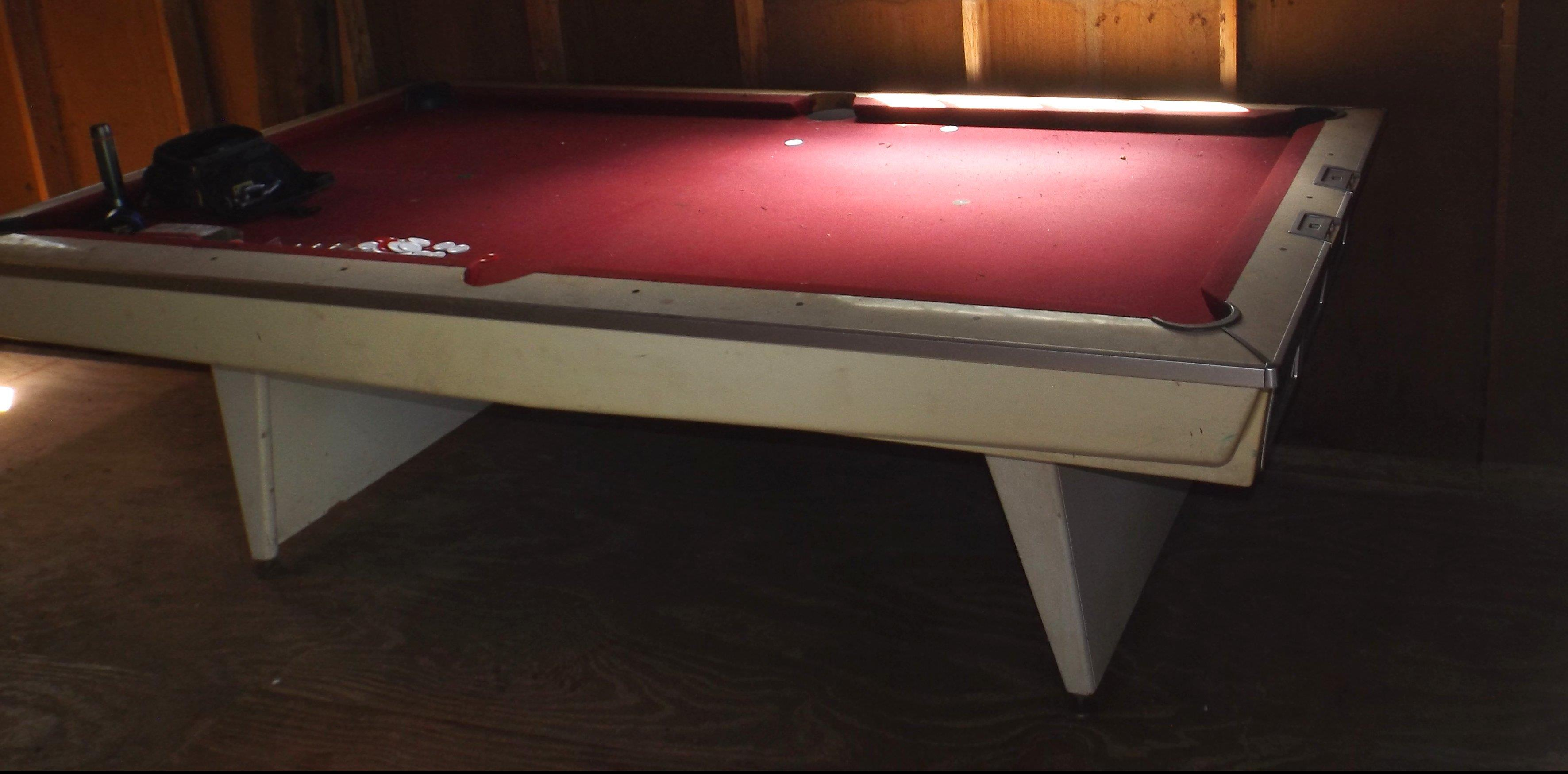 Identify This Ft Brunswick Please - Brunswick brentwood pool table