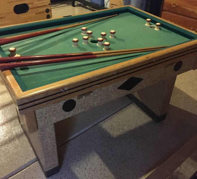 Chicago coin bumper pool table wanted - Bumper pool bumpers ...