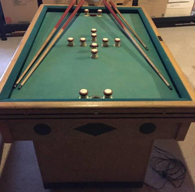 Chicago Coin Bumper Pool Table Wanted