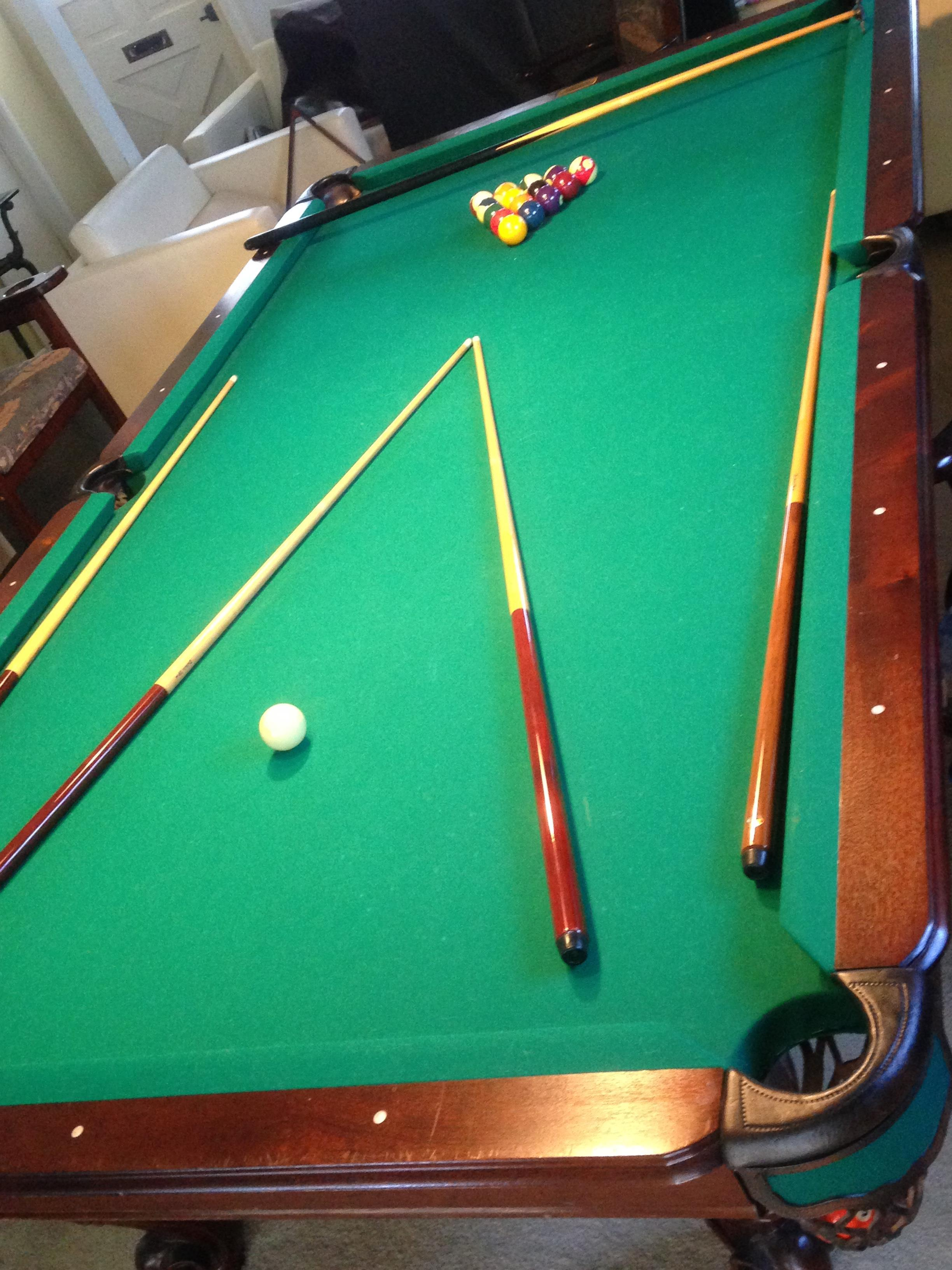 9 Foot World Of Leisure Billiard Table For