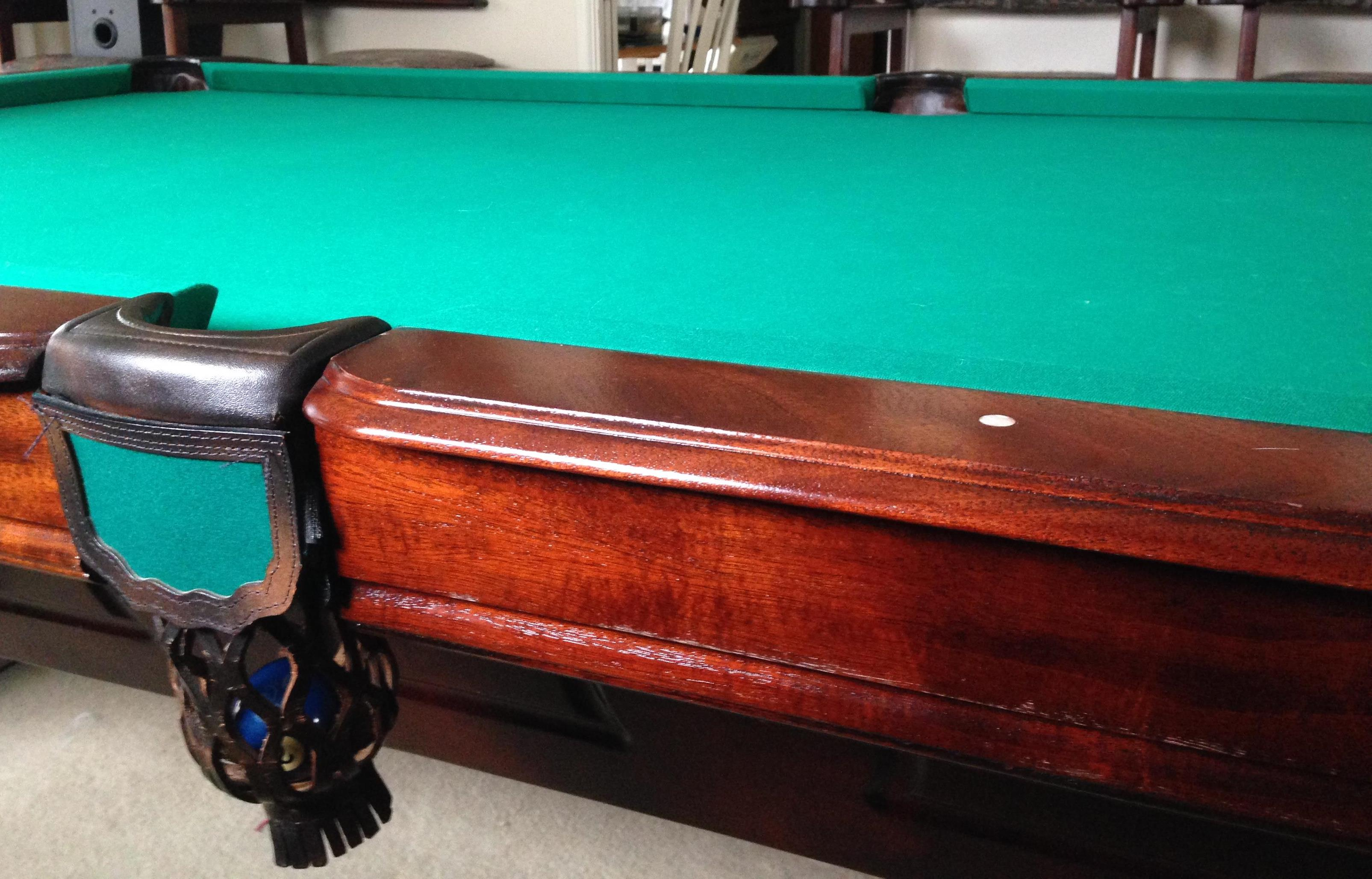 9 Foot World of Leisure Billiard Table for Sale