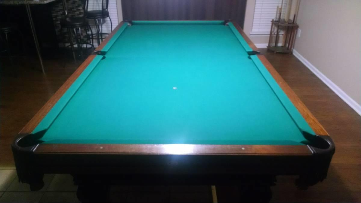 Help Identifying This Gandy Pool Table - Gandy pool table
