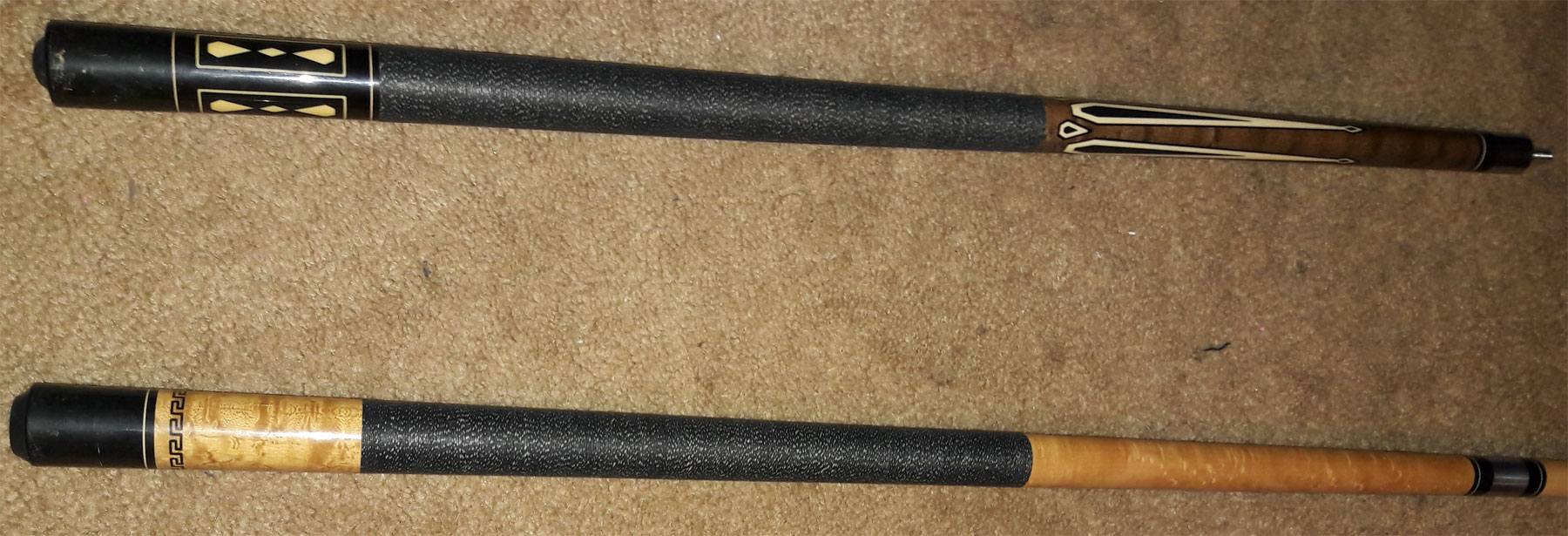 Mali pool cue identification 3
