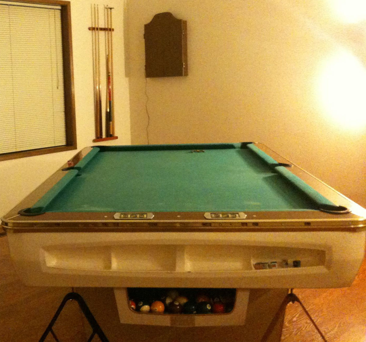 Pool Table Cloth Replacement Kit: All-Tech Industries Inc. Sixties Pool Table