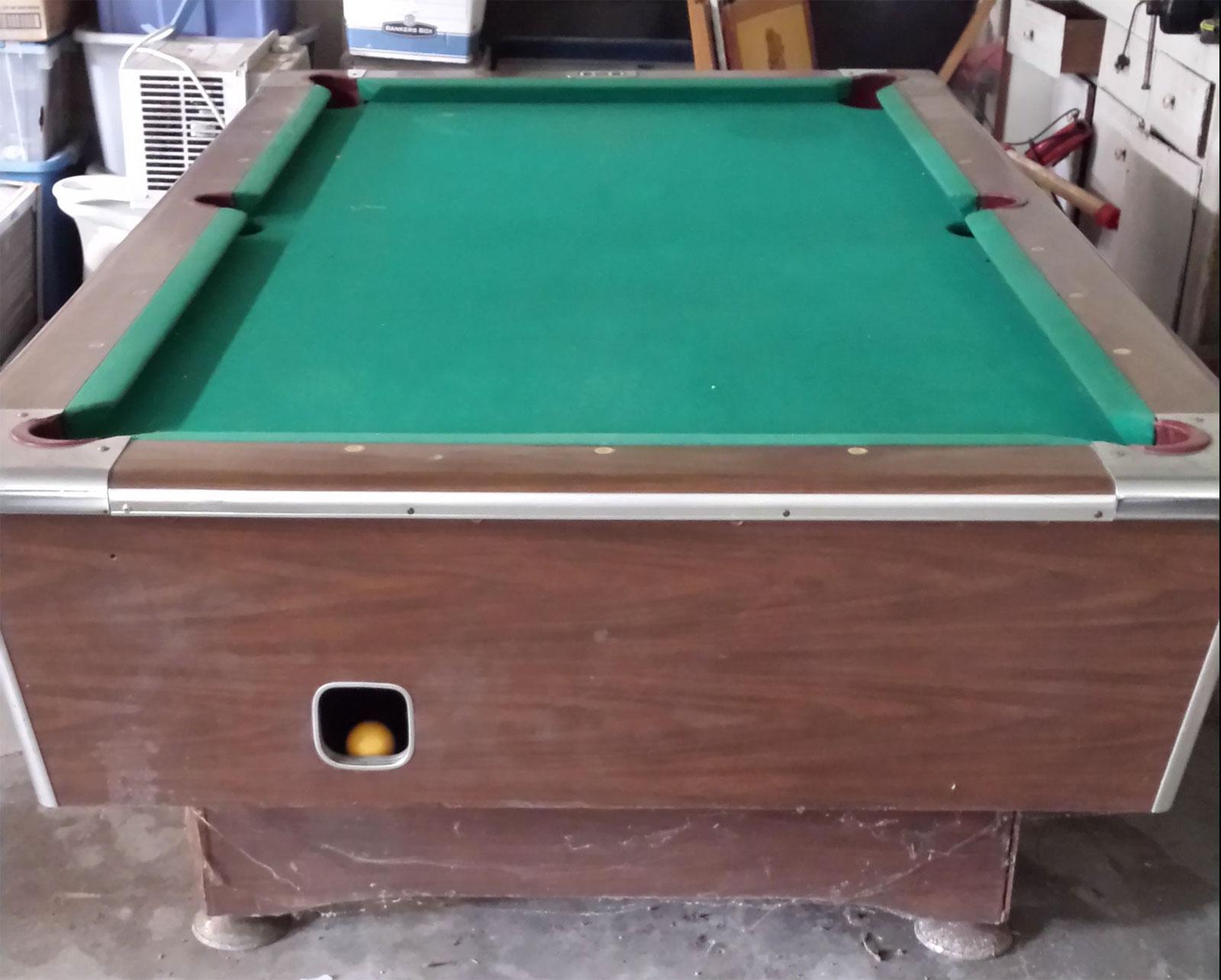 US Billiards Inc Coin Op Pool Table Value - Us billiards pool table