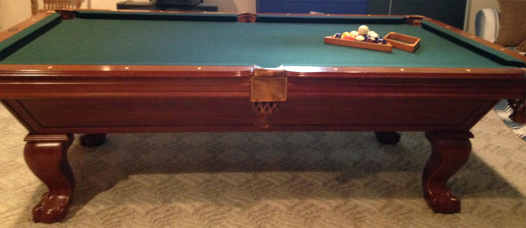 1999 8 Foot Imperial International Pool Table For Sale 800