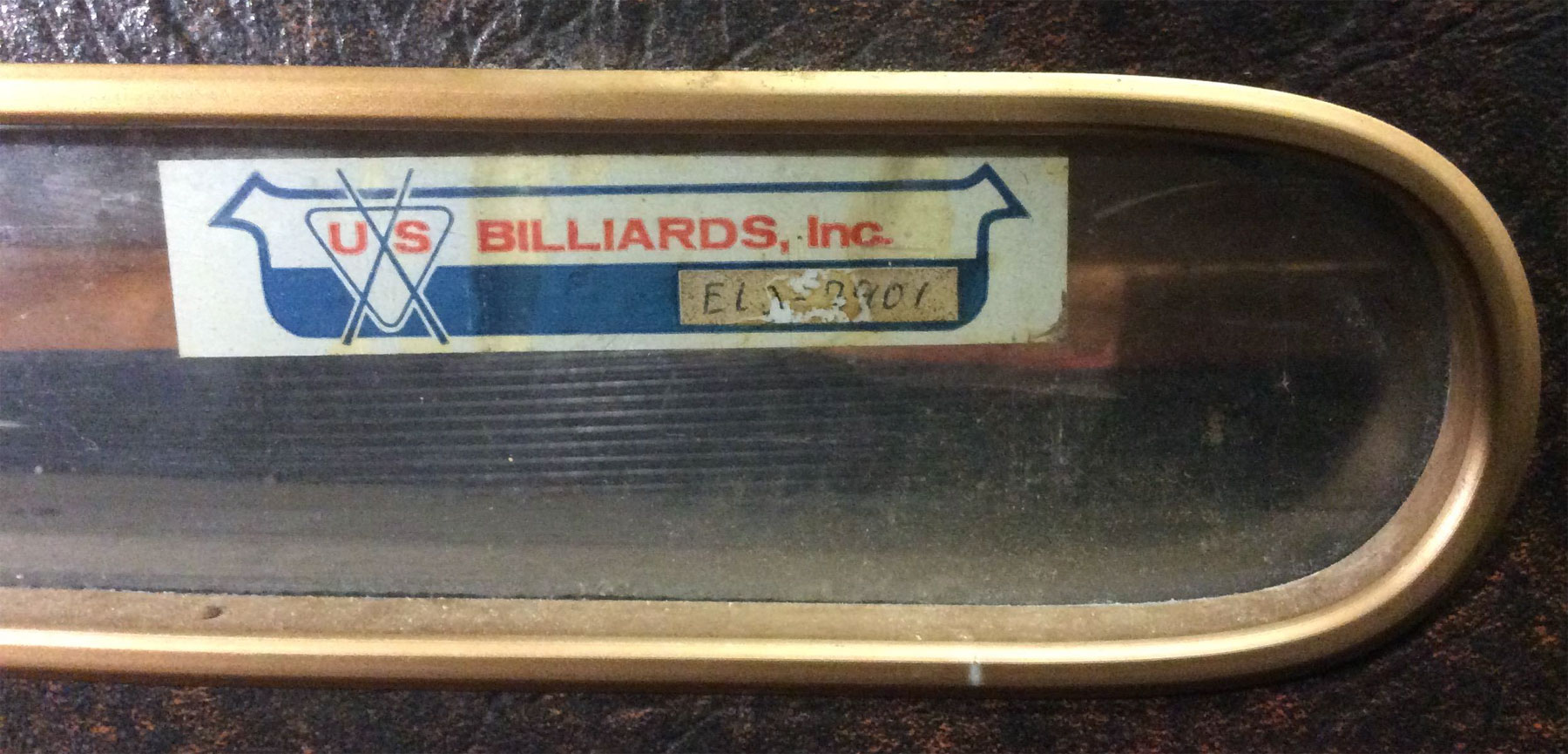 Value Of A US Billiards Inc EL Pool Table - El pool table