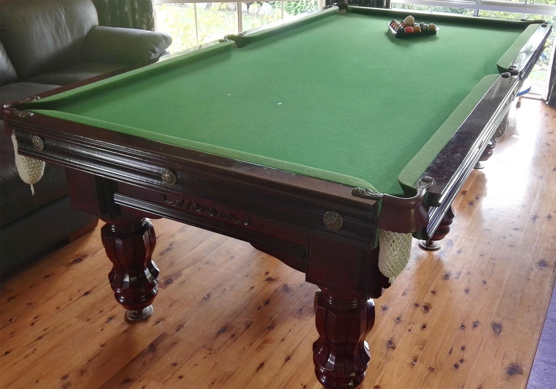 X Pool Table Make Identification - Pool table identification
