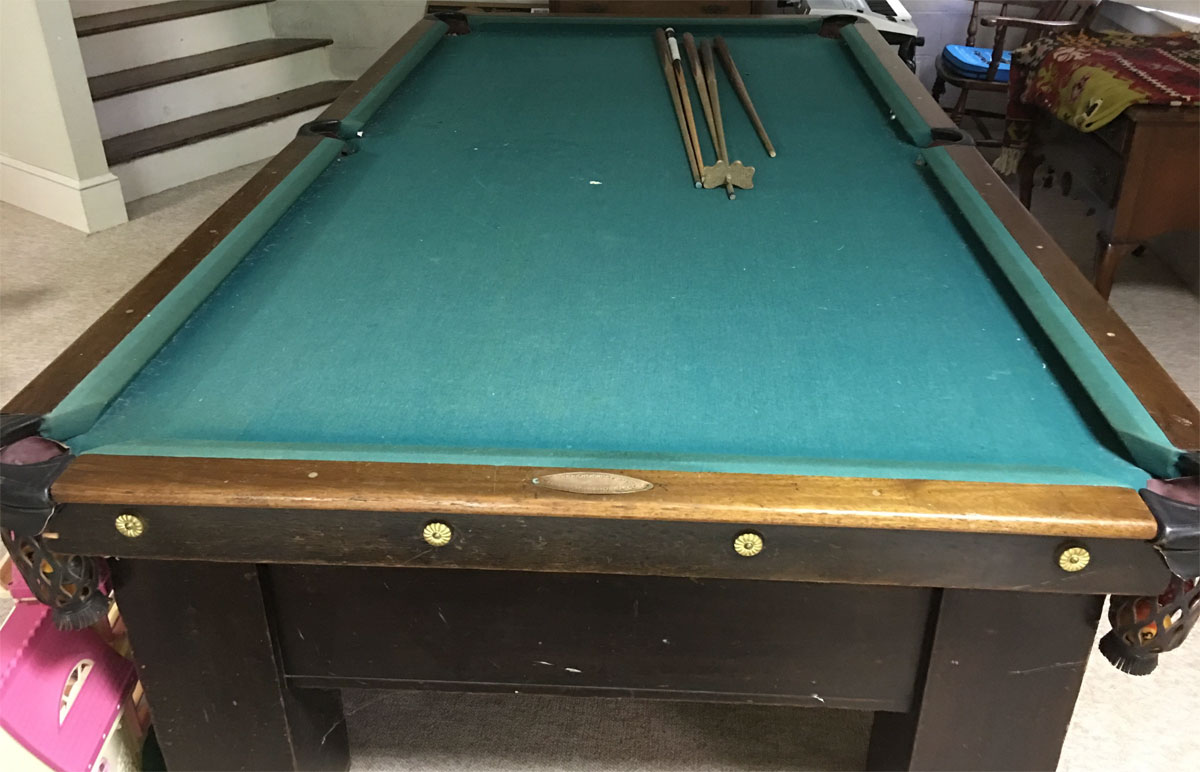 Where To Sell An Antique H Wagner And Adler Pool Table - Best place to sell pool table