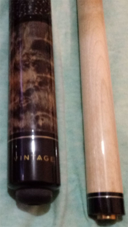 Identify Pool Cue With Word Quot Vintage Quot On Butt