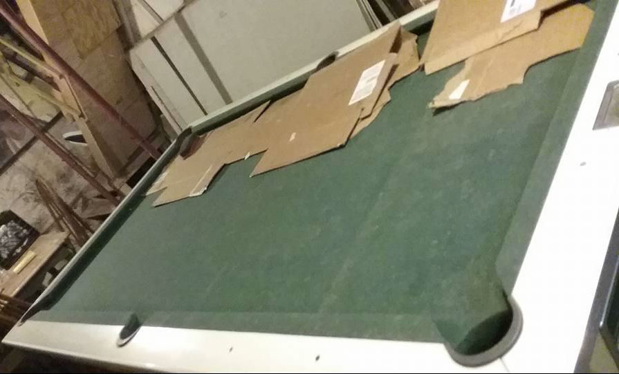 Used Pool table - Brunswick Celebrity Model HY for sale in ...
