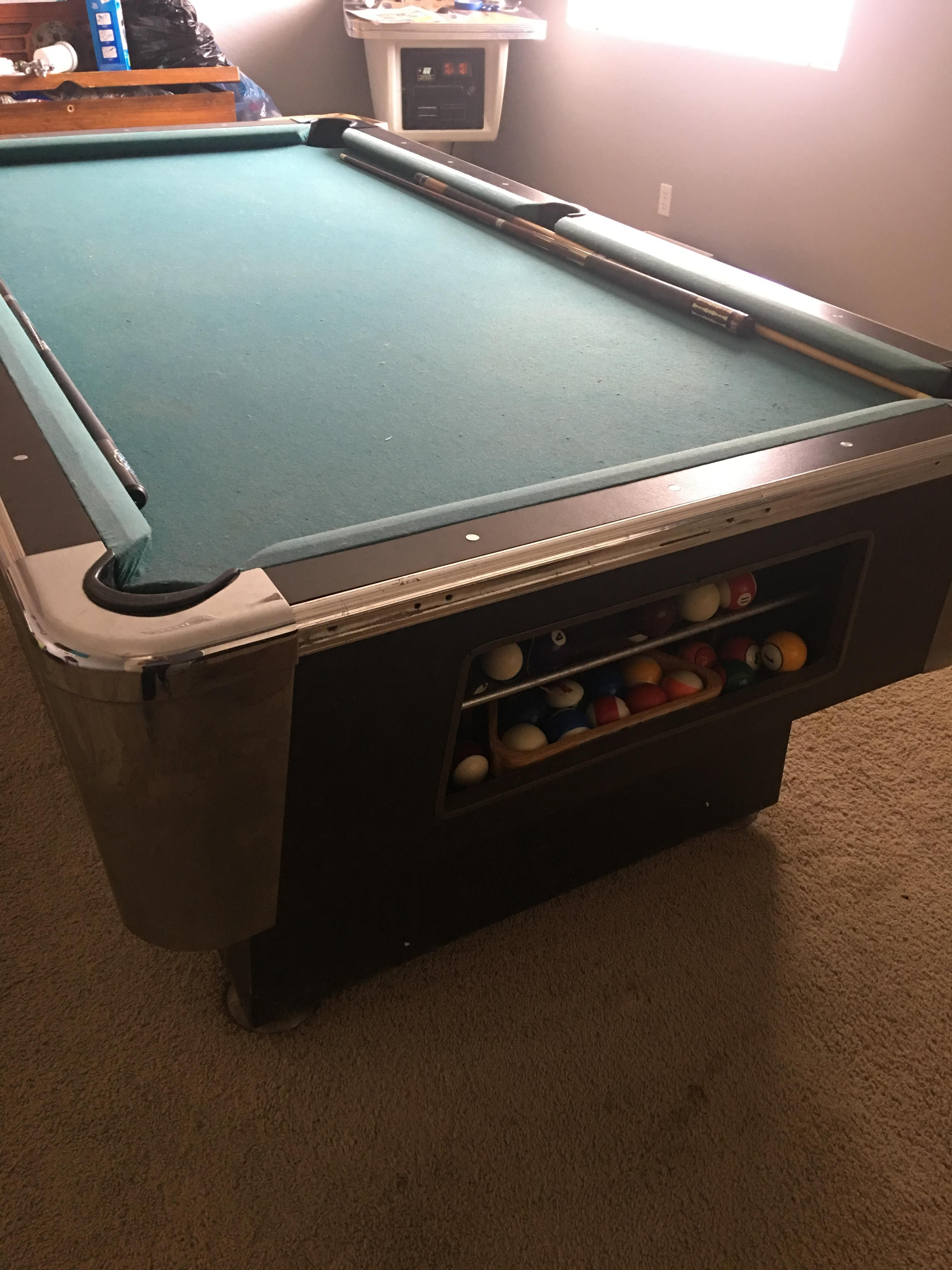 Trying To Identify A Pool Table - Sell your pool table
