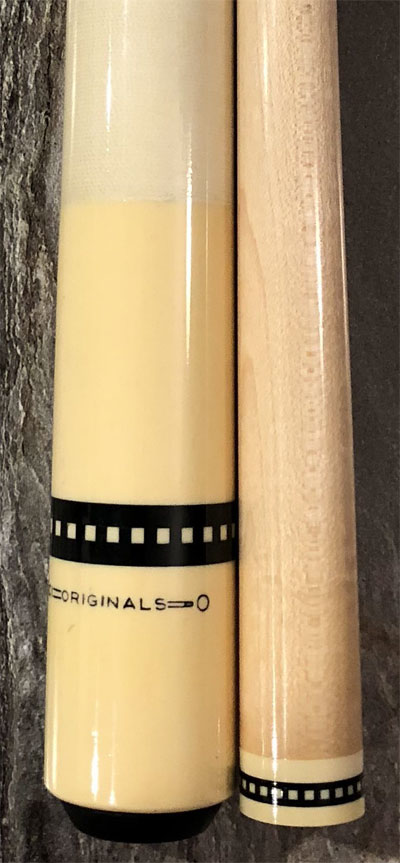 Idenfity model of Meucci Originals pool cue