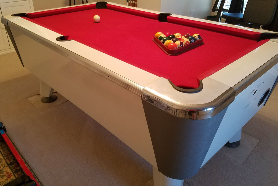 Identify Coin Operated Pool Table Manufacturer Valley - Valley coin operated pool table