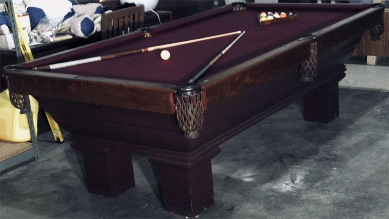 Antique Billiard Table Identification - Pool table identification