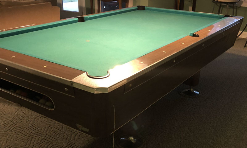 Old Fischer Pool Table Info - Fischer pool table