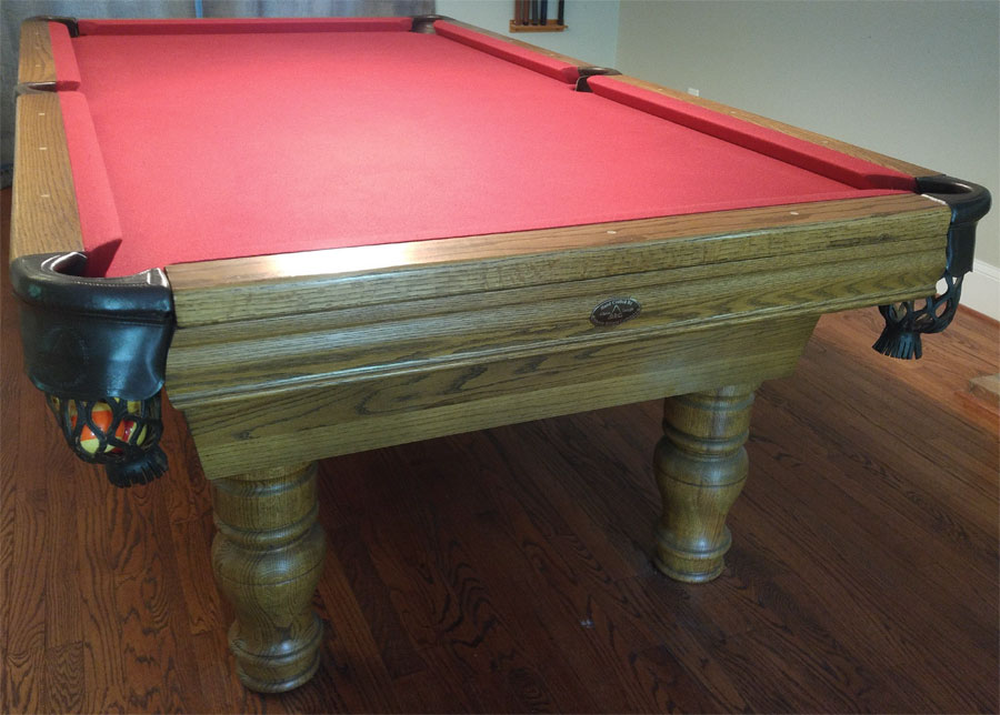Abc Pool Table 1 Or 3 Piece Slate - How To Move A Slate Pool Table In One Piece