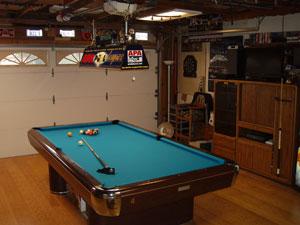 1974 Brunswick Pro 8 Foot In My Garage Pool Room