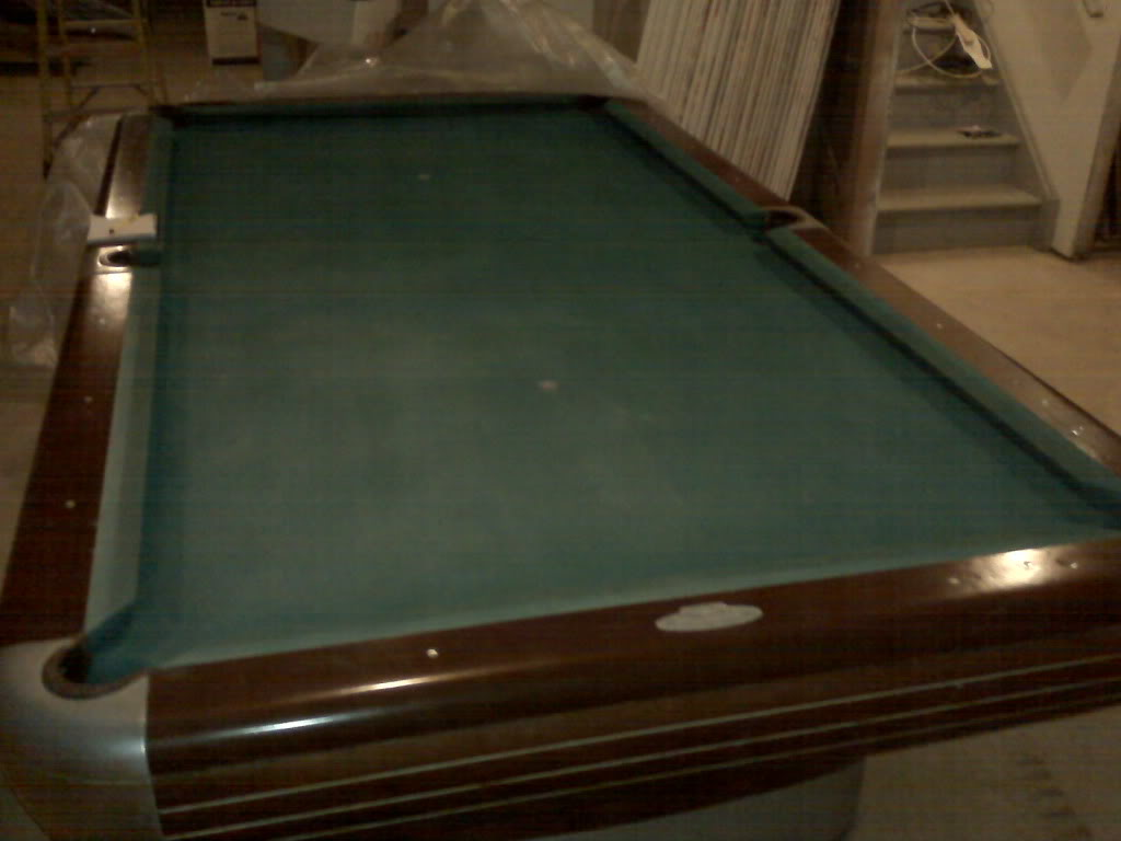 Value Of A Brunswick Official Size Slate Pool Table - What is the official size of a pool table
