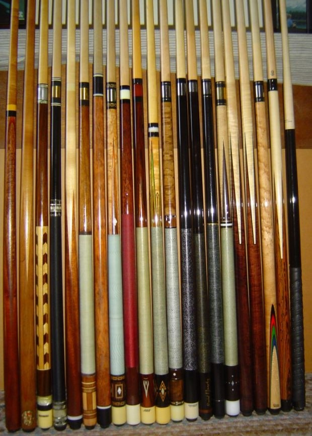 Selling My Pool Cue Collection