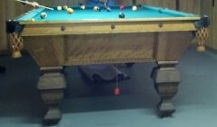 Schaaf pool table identification