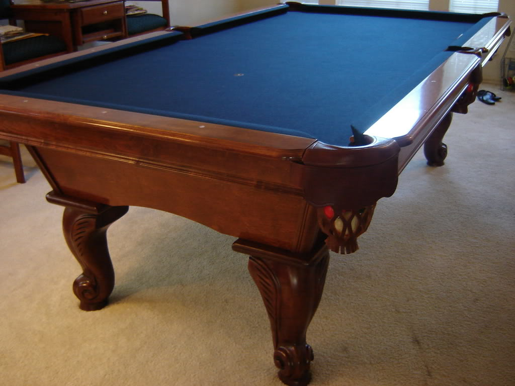 Kasson Pool Table D House Drawing - Showood pool table
