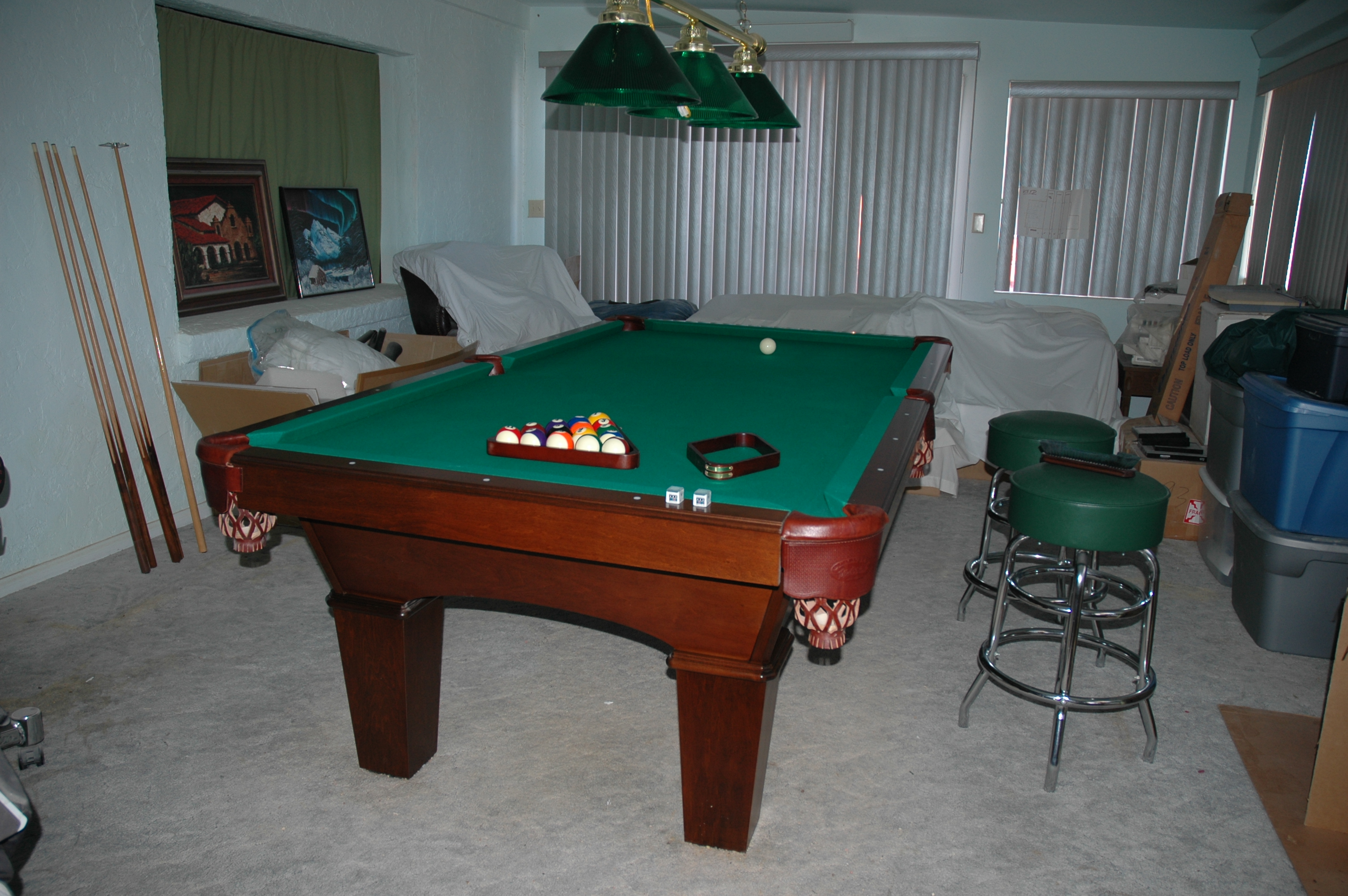 Used Olhausen Pool Table For Sale - Olhausen reno pool table