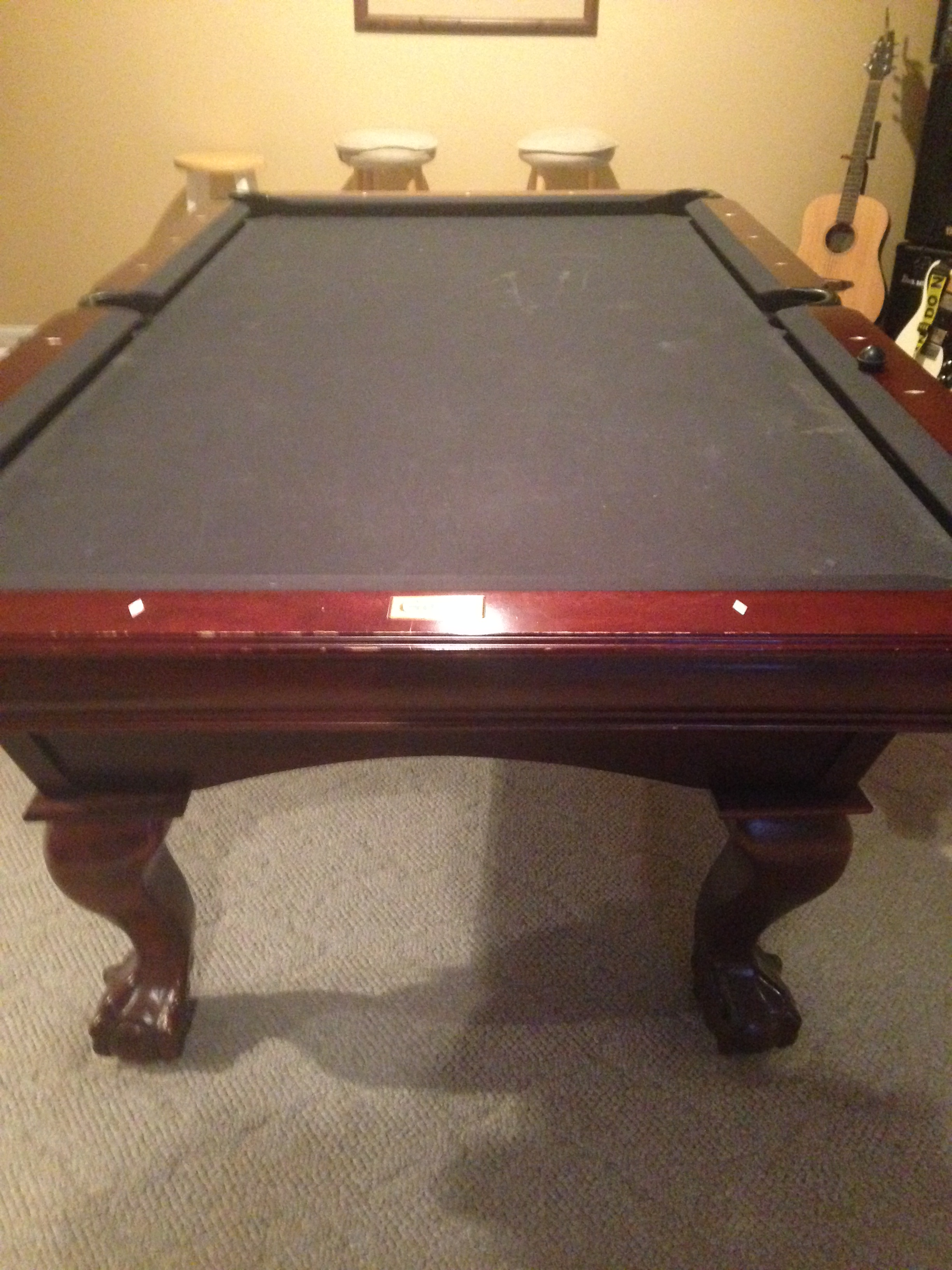 Need Help Identifying The Model Of My Gandy - Gandy pool table